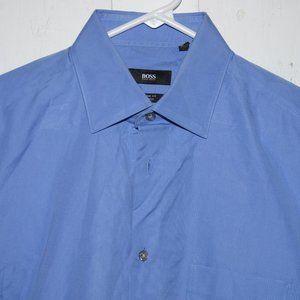 HUgo Boss dress mens shirt size 15 J1073